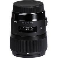 Объектив Sigma 35mm f1.4 DG HSM Art Lens for Nikon DSLR Cameras (340306), фото 1