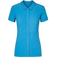 100% Оригинал DryFit Женская голубая тенниска блуза блузка Nike Cordillera.