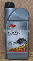 Трансмиссионное масло DELPHI Gear Oil 5 75W-80, 1л