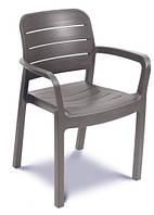 Садовая мебель TISARA столовый ресторанный стул капучинно, фото 1