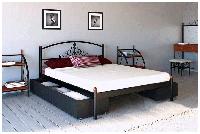 Металлическая кровать Кассандра 120х190 см ТМ Металл-Дизайн