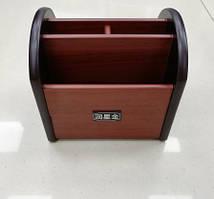 Бізнес органайзер, підставка офісні, для канцтоварів дерево №8055 (9076-14)