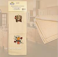 Вафельные кухонные полотенца