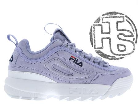 Женские кроссовки Fila Disruptor II 2 Purple White - купить по ... 6a43130d142f4