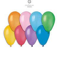"""Асорті пастель. 6"""" (15 см). Повітряні кульки"""