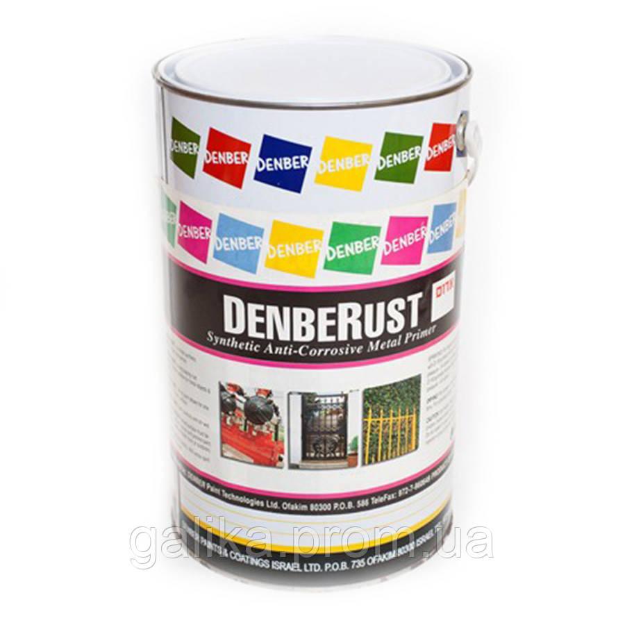 «Антикоррозийный грунт по металлу Denber Rust 18л серый/черный/кр.коричневый»