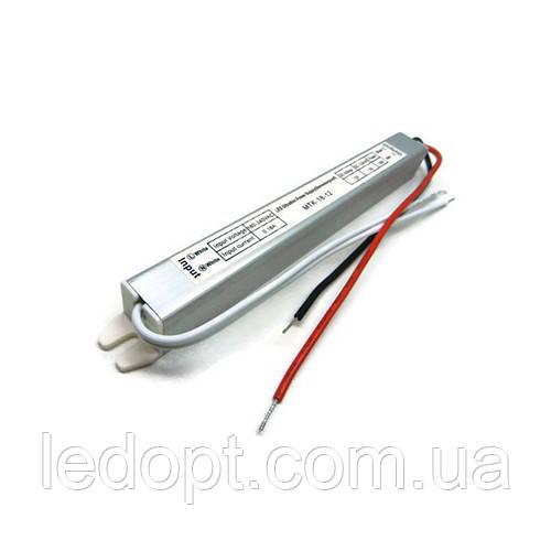 Блок питания герметичный 12В 24Вт 2А  SLIM IP67