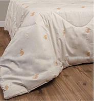 Одеяло шерстяное стеганное из верблюжьей шерсти 140х205