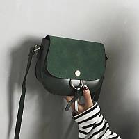 Женская сумочка мини зеленая, фото 1
