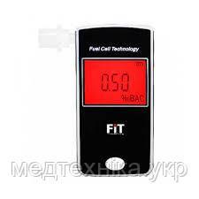 Профессиональный алкотестер FIT303-LC с электрохимическим датчиком, LCD дисплеем, часами, памятью