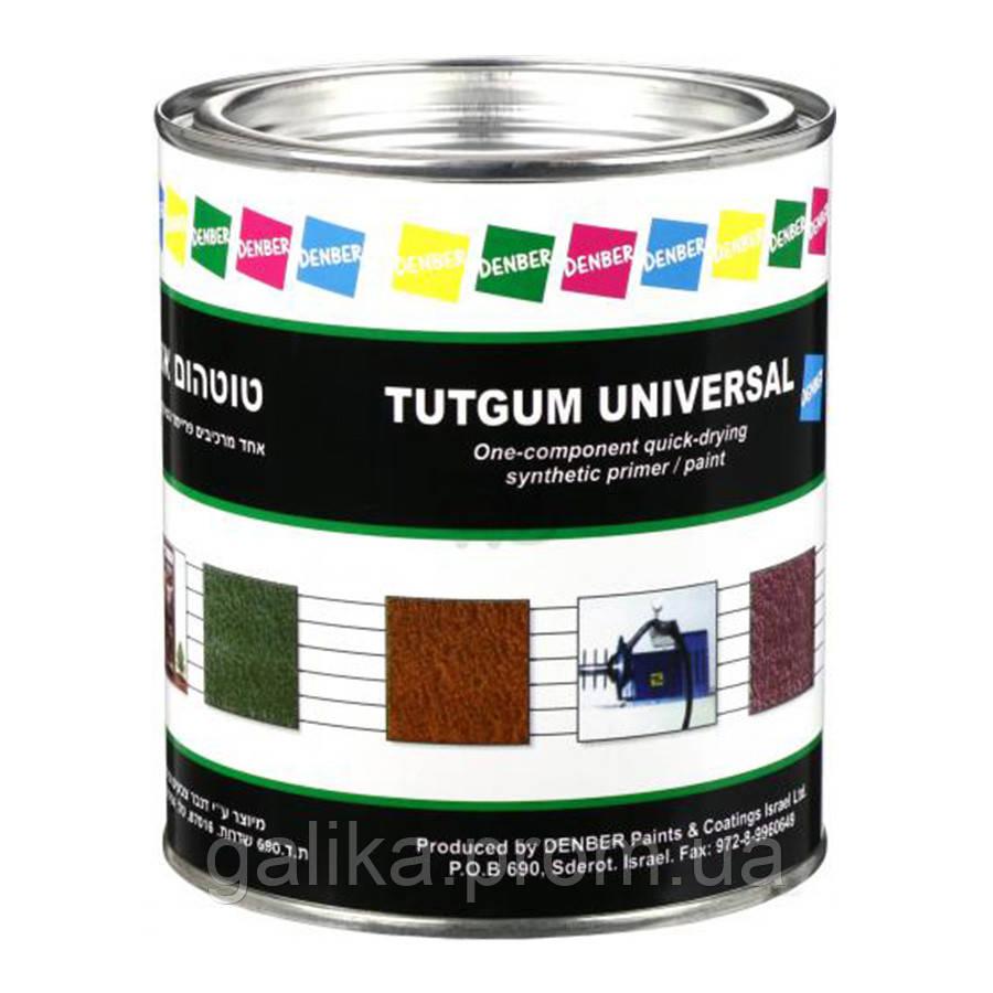 Грунт-эмаль быстросохнущая для алюминия, оцинкованых металлов Tutgum Universal DENBER 2,5л