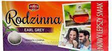 Чай черный пакетированный Rodzinna earl grey  80 шт