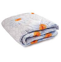 Одеяло стеганое летнее бязь овечья шерсть 190х210