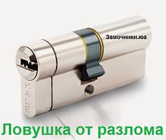 Цилиндр Kale 164 KTB S 80мм.(35х10х35) никель