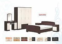 Набор мебели для спальни ДСП  серия Модерн  (Абсолют)