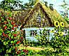 AS0159 Набор-раскраска по номерам Украинская хата