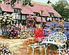 AS0160 Набор-раскраска по номерам Загородный дом