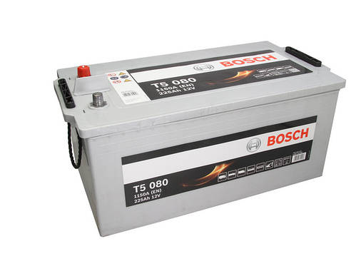 Аккумулятор Bosch T5 225Ah EN1150A L+ (T5080), фото 2