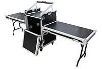 Кейс-стол на ножках AMC12U с 12U рэковой стойкой для микшера