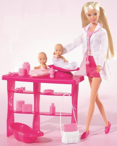 Кукла Штеффи с близнецами, врач Simba 5732608