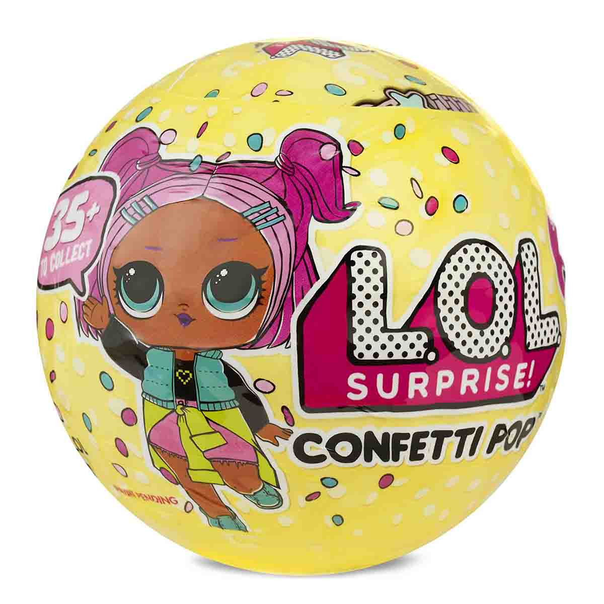 ОРИГІНАЛ L.O.L. Лялька сюрприз ЛОЛ конфетті серія 3 Кукла-сюрприз LOL конфетт confetti POP series 3