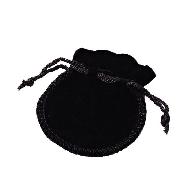 Черный 60*70 мм бархат