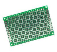 PCB 5x7 см двухсторонняя печатная плата