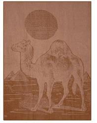Одеяло шерсть верблюда полуторное 140х205