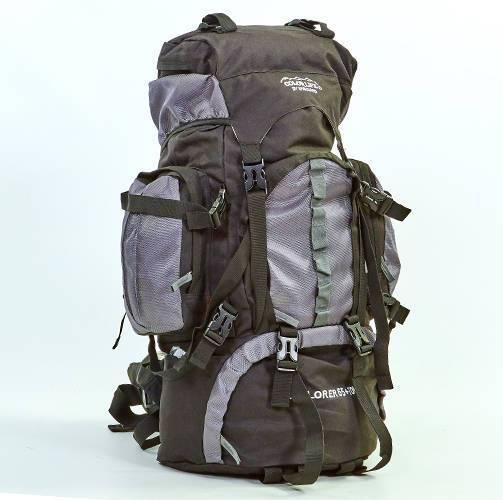 Туристический рюкзак COLOR LIFE 112  серый V-75 литров