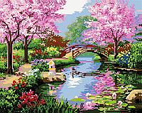 Алмазная мозаика: Волшебный пейзаж, 40 × 50, GF086
