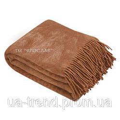 Плед из верблюжьей шерсти с принтом 140х200