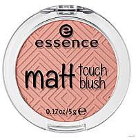 Eccence румяна matt touch blush