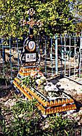 Бетонный памятник на могилу