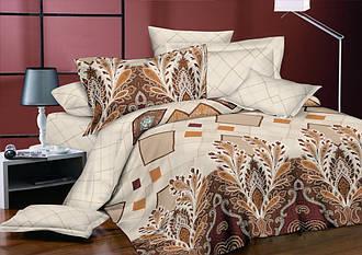 Двуспальный комплект постельного белья 180*220 из ранфорса Агата