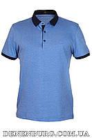 Футболка-поло мужская VIKTORIO 9689 синяя, фото 1