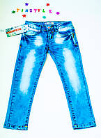 Модные джинсы  для девочки (6-8,14 лет), фото 1