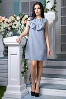Короткое платье Куба серый (S,M,L)