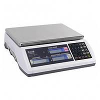 Счетные весы CAS EC (3. 6. 15. 30 кг)