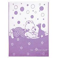 Детское одеяло полушерсть Мишка 100х140см