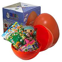 """Большое пластиковое яйцо-сюрприз с игрушками """"Лалалупси"""""""