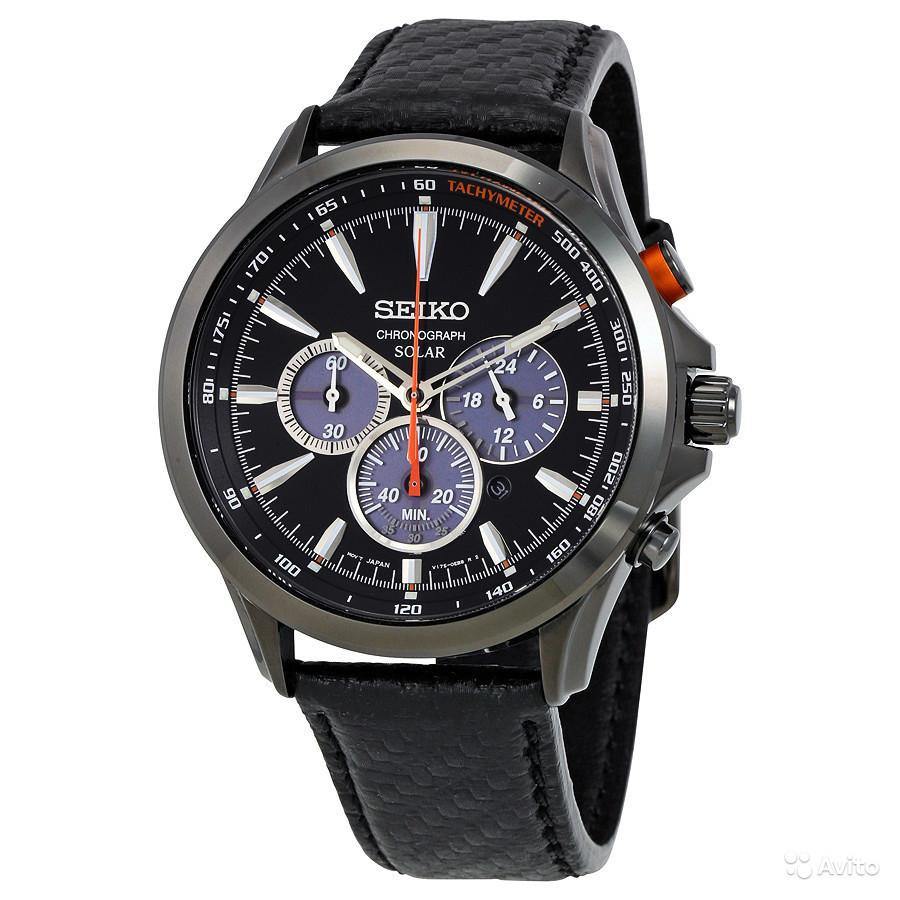 Часы Seiko Chronograph SSC499 SOLAR V175