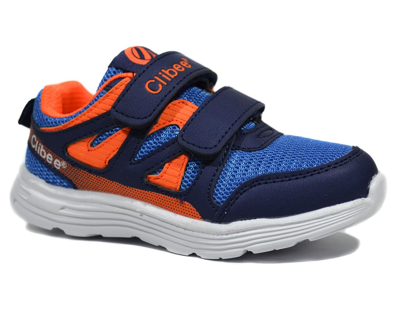 Детские кросcовки  для мальчика Blue-orange