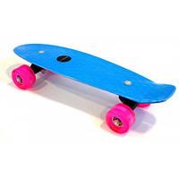 Penny Board (Пенни борд)  ASTRO (светятся колеса, цвета в ассортименте)
