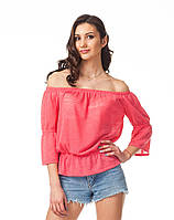 Яркая летняя женская блуза. К088
