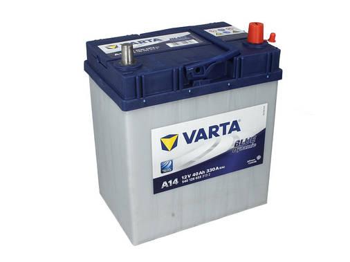 Аккумулятор VARTA BD 40Ah EN330 R+ Asia (A14) тон.клем., фото 2
