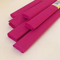 Гофрированная (креп) бумага для творчества, бордовая, фото 1