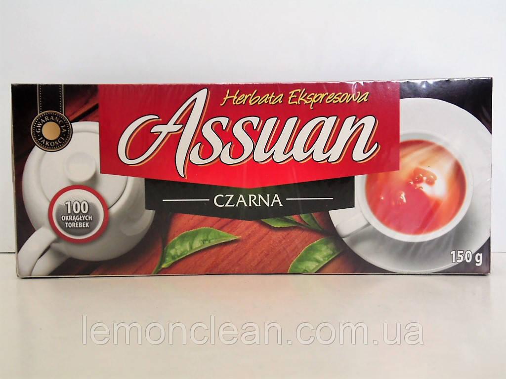 Чай черный Assuan 100 пакетиков
