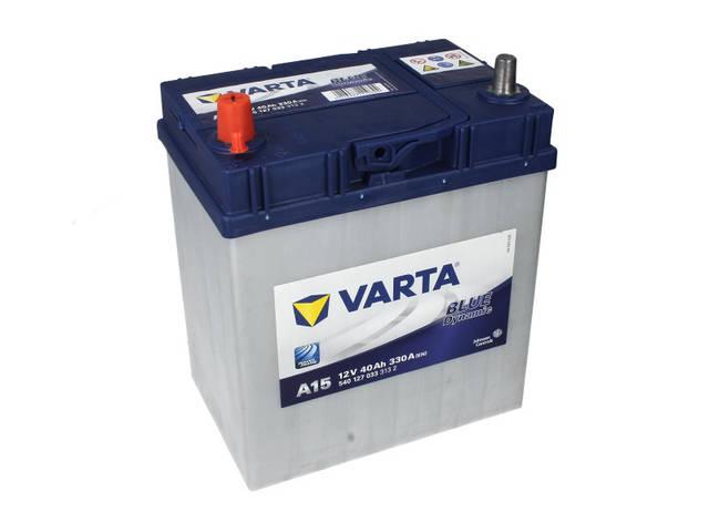 Аккумулятор VARTA BD 40Ah EN330 L+ Asia (A15) тон.клем.