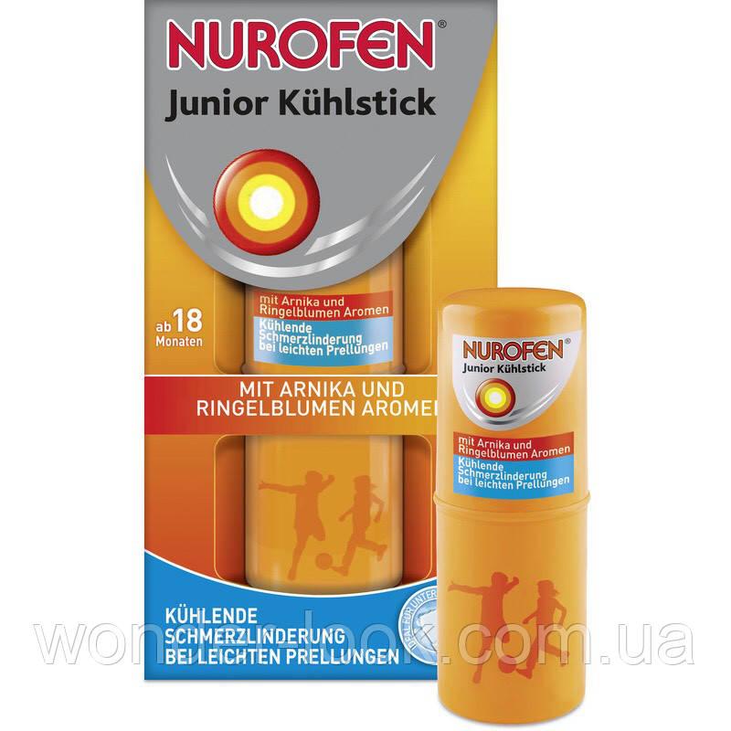 Nurofen junior охлаждающий и обезболивающий стик