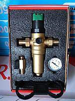 Фильтр с редуктором 1/2 для горячей воды (аналог Honeywell FK06-1/2AAМ) , фото 1